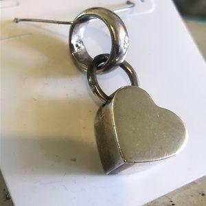 Chunky Silpada Heart Pendant